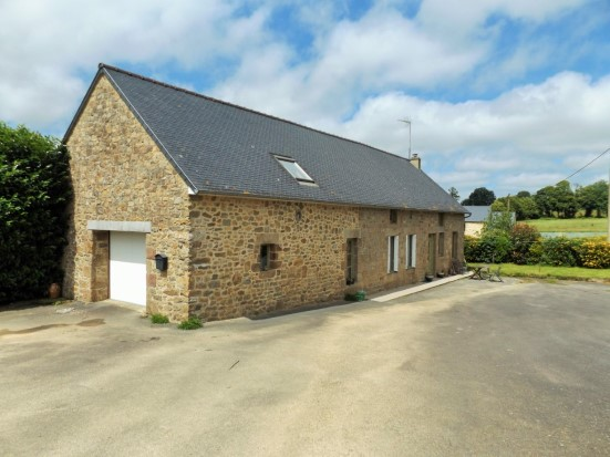 AHIB-4-AM Louvigne Du Desert 35420 2 bedroom longere with room for expansion near village with 13931 m²