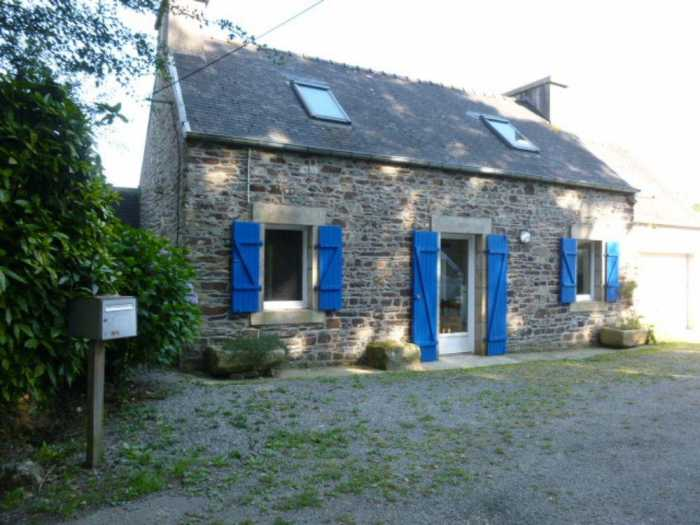 AHIB-2-mon1880 Taule 29670 2/3 bedroomed cottage with 795m2 garden + 10420m2 pasture
