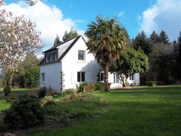 AHIB-3-M2369-29141073 Nr Chateauneuf du Faou 29520 Stunning property hidden in 2.8 Ha of forest, land, and with a lovely house!
