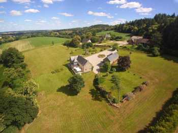 AHIB-2-DN-625 Nr Pontivy 4 bedroomed superbly renovated property on 10 acres - beautiful views