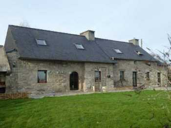 AHIB-3-mon1915 Plouye 29690 3 bedroomed longère with chalet and manageable garden,