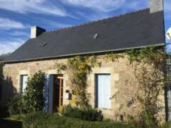 AHIB-1-JS017 St Nicolas du Pelem 2 bedroomed cottage on 1/4 acre a house for sale Cotes d'Armor, Brittany