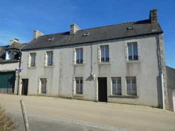 AHIB-3-mon1925 Scrignac 29640 4 bedroomed terrace house with potential and 1/4 acre garden