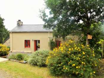 AHIB-1-AM6165 • Trebrivan Detached 2 Bedroomed Stone Cottage + 1 Bedroomed Gite on 2,488m2