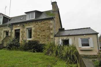 AHIB-1-PO-079 Lezardrieux 22740 2 bedroomed house with 381m2 garden