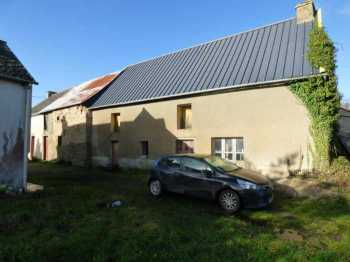 AHIB-1-ID1846 Merdrignac 22230 a 2 bedroom main house + Longere with outbuilding to do on 1803m2 garden