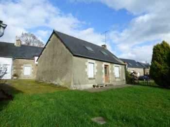 AHIB-1-ID2139 La Ferriere 22210 Bargain! Detached Stone house with attic and 820m2 garden