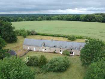 AHIB-2-DN-641 Nr Rochefort en Terre 56220 Gloriously authentic 4 bedroomed property in rural setting on 1.5 acres