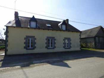 AHIB-1-ID2196 La Prenessaye 22210  3 bedroomed house wit 3/4 acre and outbuildings