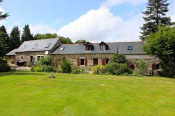 AHIB-3-PO-092 Stone longere as charming house and gite on 2852m2 grounds..