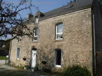 AHIB-2-JS6849330 Spacious 6 Bedroomed Stone House close to Guemene Sur Scorff on 2003m2 gardens